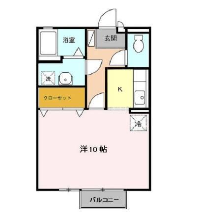 レグルス・レジデンス Ⅰ・Ⅱ 2階の物件の間取図