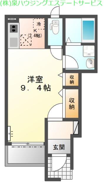 La-recolte 1階の物件の間取図