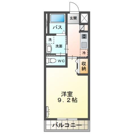 allure(アリュール) 2階の物件の間取図
