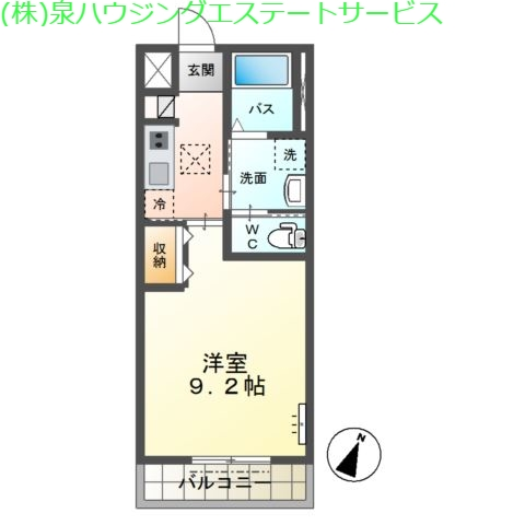 allure(アリュール) 1階の物件の間取図