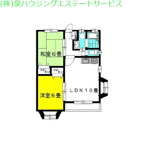 メゾン・ド・グレース Pt.1 1階の物件の間取図