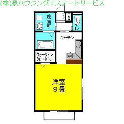 ラフォンテ・レパードⅣ 1階の物件の間取図