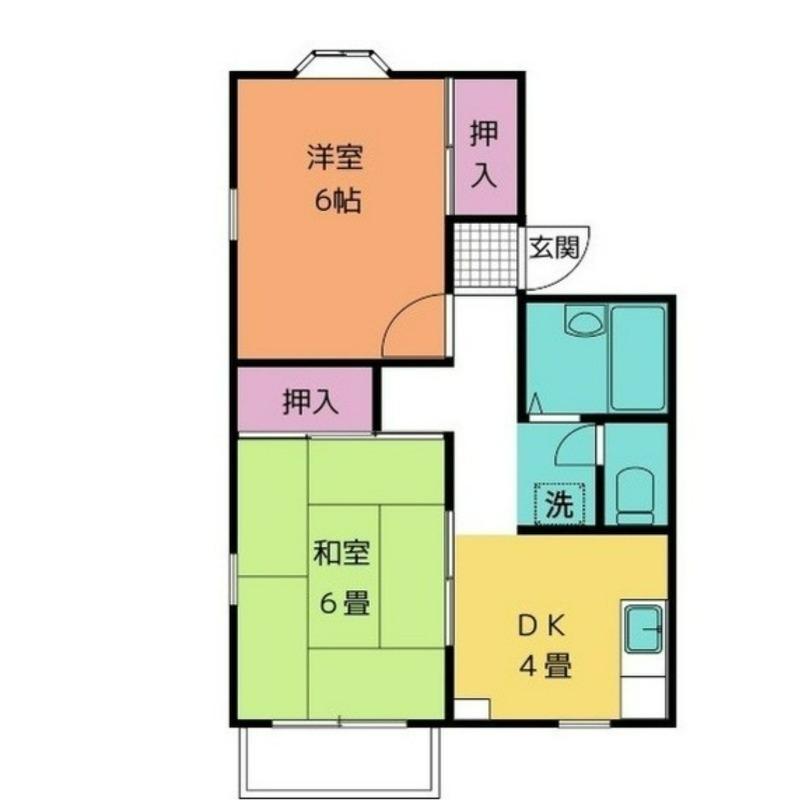 ラ・フォンテ2nd 2階の物件の間取図
