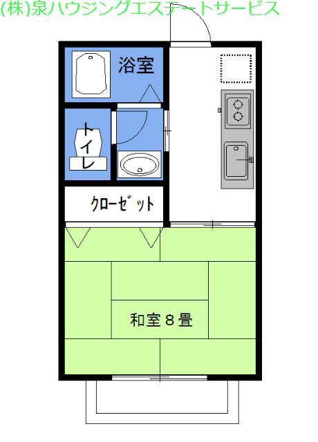 グラシアス・ベイone 2階の物件の間取図