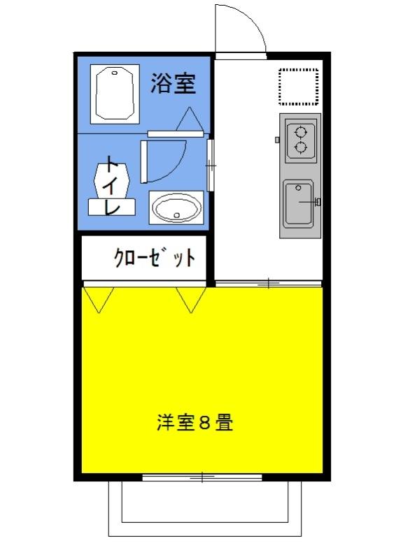 グラシアス・ベイone 1階の物件の間取図