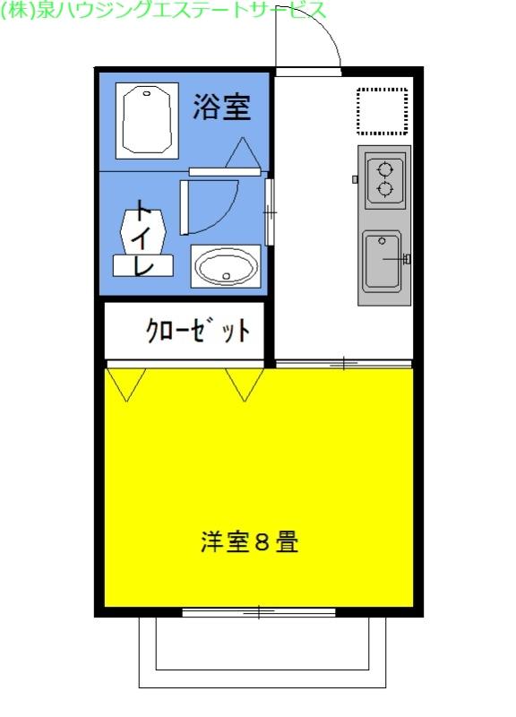 グラシアス・ベイtwo 1階の物件の間取図