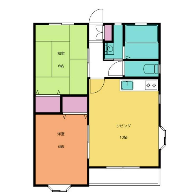 ル・バロン Block.Ⅱ 1階の物件の間取図