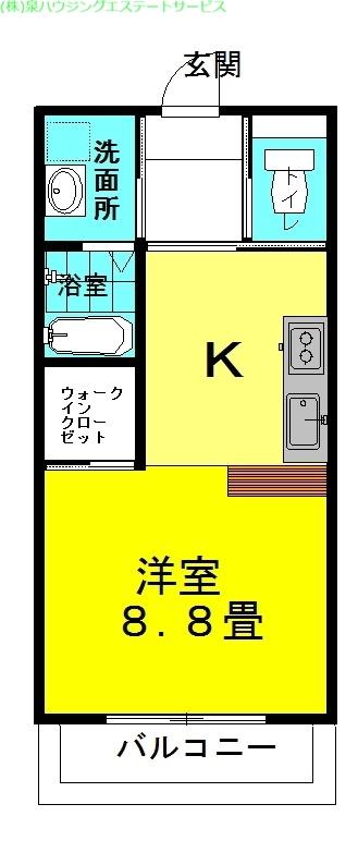ラフォンテ・ストリートコート 3階の物件の間取図