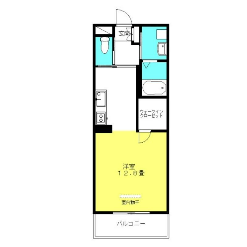 ブランシュM&MⅡ 1階の物件の間取図