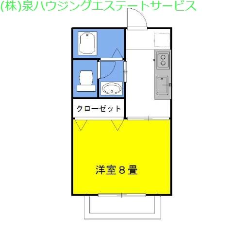 グラシアス・JJ 1階の物件の間取図