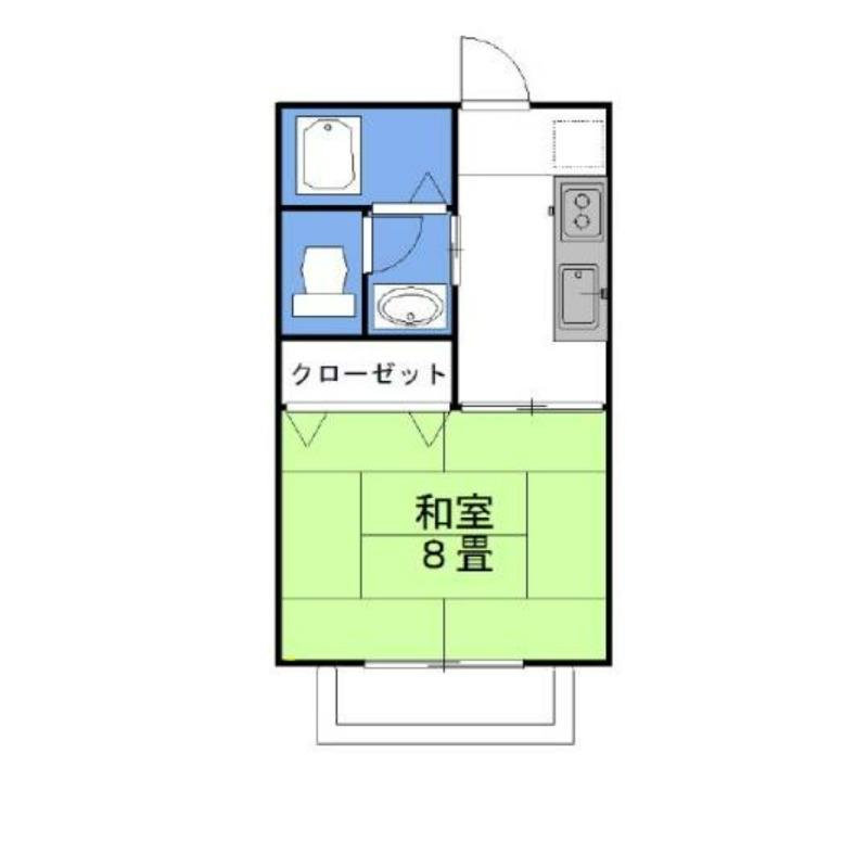 グラシアス・メール 2階の物件の間取図