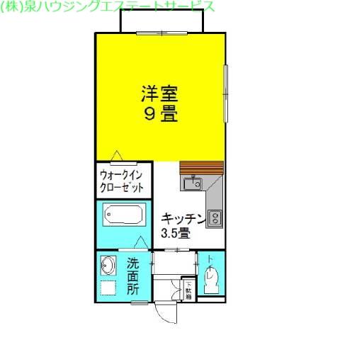 セントラル・フェスタⅡ 2階の物件の間取図