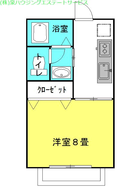 ラフォンテ・Goo 1階の物件の間取図