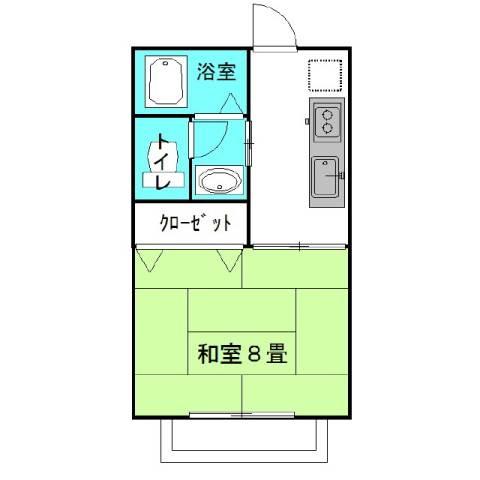 ラフォンテ・Goo 2階の物件の間取図