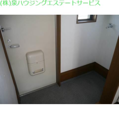 玄関・洗濯機置場